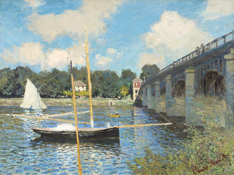 莫奈-阿让特伊的桥.jpg插图