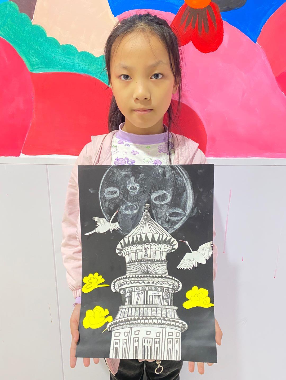 学生作品-线描祈年殿-8.jpg插图